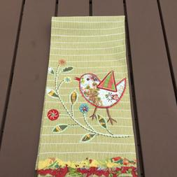 World Market 100% Cotton Kitchen/Tea Towel Embroidered Patch