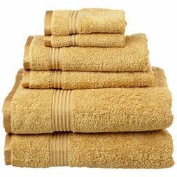 Superior 100% Long Staple Combed Cotton Towel Set 6 Piece Go
