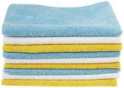 24 pack AmazonBasics Microfiber Cleaning Cloth Amazon Basics