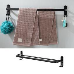 24inch Bathroom Towel Rack Holder Wall Mounted Rail Bar Toil