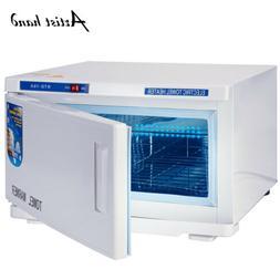 2in1 Hot Towel Warmer UV Sterilizer Cabinet Salon Spa Beauty