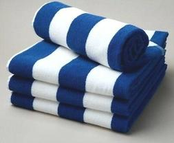 4 pack new pool cabana vacation beach towels jacuzzi sauna q