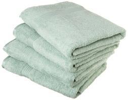 4-pc Sage Green Superior 600 GSM Egyptian Cotton Bath Towel