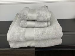 4 Piece Ralph Lauren Wescott Bathroom Bath Hand Towel Set Ca