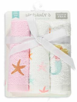 Hudson Baby 6-Pack Terry Washcloths