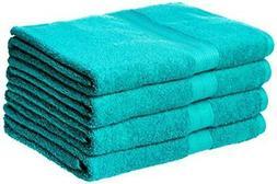 6 Pc - Basics Fade-Resistant 6-Piece Cotton Towel Set