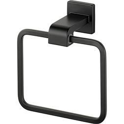 Delta Faucet 77546-BL Ara Towel Ring Black