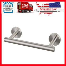 GERZ 9-Inch Small Kitchen Towel Bar Brushed Stainless Steel