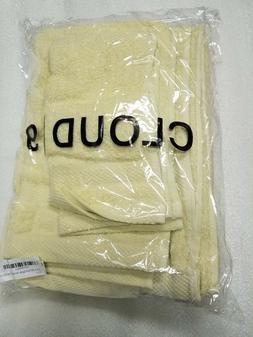 900GSM Egyptian Cotton 6-Piece Towel Set Chocolate