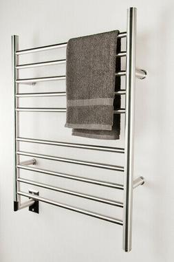 Amba RWH-SB Radiant Hardwired Straight Towel Warmer, Brushed