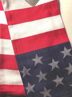 American Flag Stars and Stripes Patriotic Cotton Jacquard Di