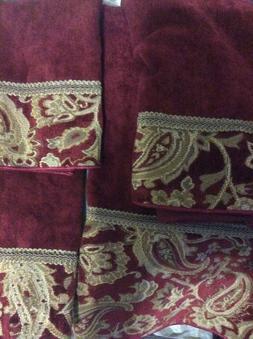 Avanti Linens Arabesque 4 Piece 100% Cotton Towel Set