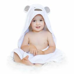 Baby Hooded Towel Thick and Soft, Extra Large 35 x 35 Inch N
