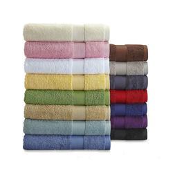 Bath Hand Towel Washcloth Cotton Colorful Bleach Friendly So
