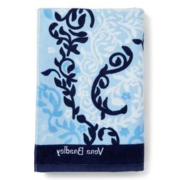 Vera Bradley Beach Towel Seahorse Stamp Pattern Brand New