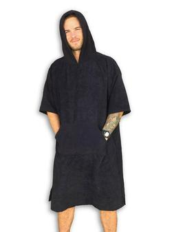 Changing Towel Surf Poncho Robe by Breakers with Hood & Pock