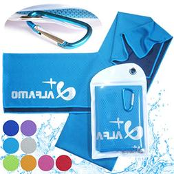 """Cooling Towel for Instant Relief, 40"""" Long As Scarf - XL Ult"""