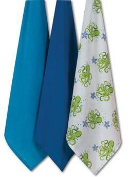Kay Dee Designs A8368 Octopus Flour Sack Towels