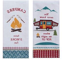 Kay Dee Designs Camping Life Kitchen Towel Bundle, Set of 2