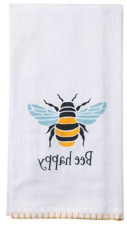Kay Dee Designs R6563 Garden Bee Flour Sack Towel