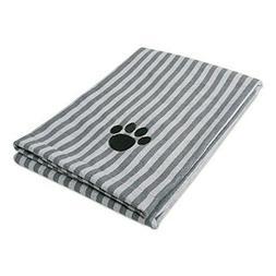 Bone Dry DII Microfiber Pet Bath Towel, Ultra-Absorbent & Ma
