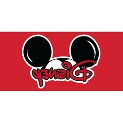 "Disney New Mickey ""Mickey HEAD"" Beach Towel"