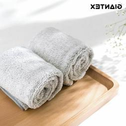 Dobby Style Soft Bamboo Fiber Face Towel Super Absorbent Tow