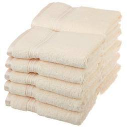 10-Piece Face Towel Set, 100% Premium Long-Staple Combed Cot