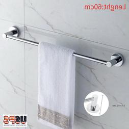 Stainless Steel Towel Rack Bar Rail Wall Mounted Holder Bath