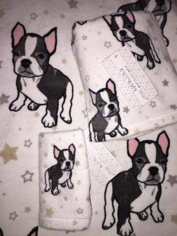 French Bulldog / Boston Terrier Bath  Hand Towel Wash cloth