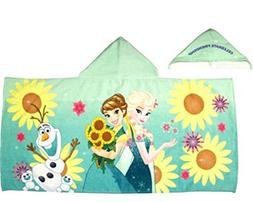 Disney Frozen Anna Hood Poncho, Hooded Towel Featuring Anna,
