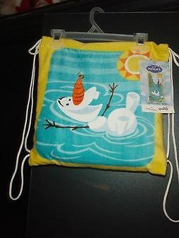 DISNEY Frozen OLAF Beach Towel Tote Bag Set Lot Summer BRAND