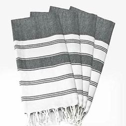Glamburg Peshtemal Turkish Towel 100% Cotton Beach Towels Ov