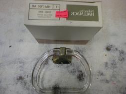 Hallmack HM-786 AB antique brass towel ring