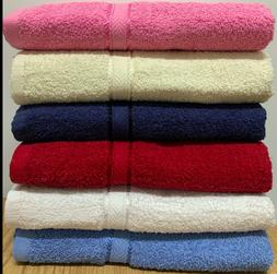 Holiday Special 6-Pack Bath Towels - Extra-Absorbent - 100%