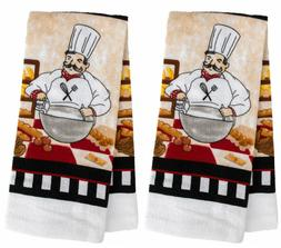 Home Collection Kitchen Towel Cotton/Polyester Blend~ Set of