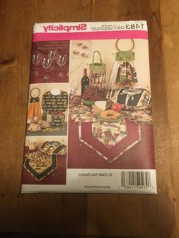 Kitchen Accessories Covers Totes Runner Towel Sewing Pattern