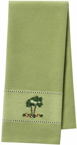 DII Kitchen Towel - Tea Towel #26777 - Embroidered Palm Tree