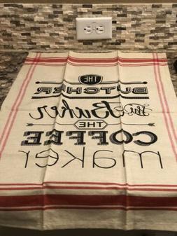 DII Kitchen Towel - The Butcher, Baker, Coffee Maker - 100%