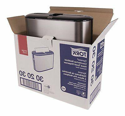 Tork Multifold Hand Dispenser 302030 Stainless Steel
