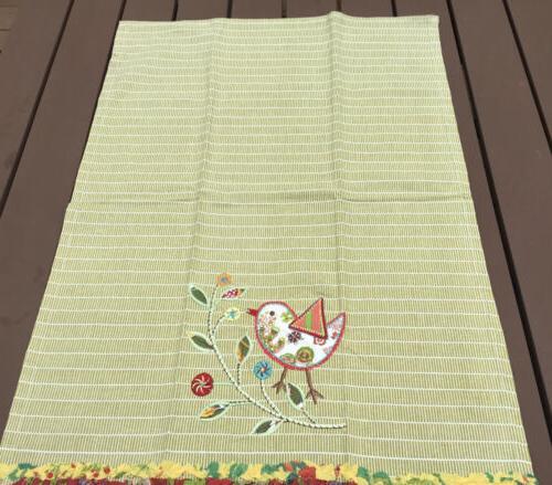 World Kitchen/Tea Bird Floral New