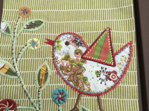 World Cotton Kitchen/Tea Towel Bird