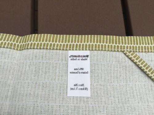 World Market 100% Cotton Kitchen/Tea Towel Patchwork Bird Floral