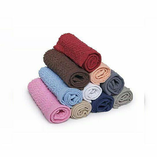 12-Pack:100% Absorbent Kitchen Washcloth Towel Set Dish Cloths