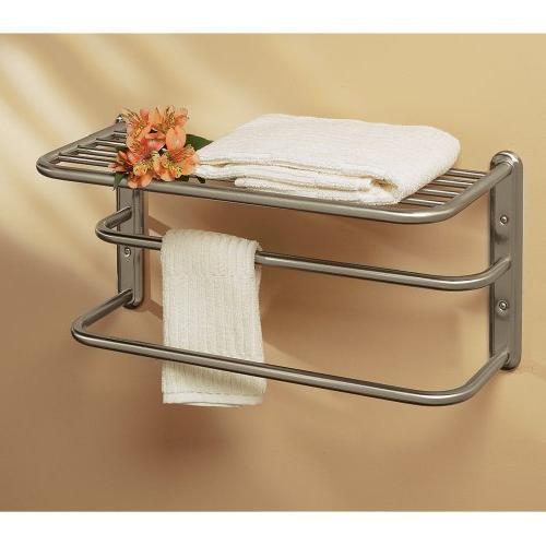 Gatco 1541SN 20-Inch Towel Rack, Nickel