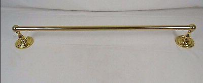 24 classic towel bar polished brass 4142