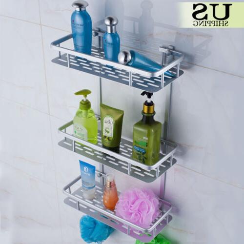 3 Tier Bathroom Toilet Bath Caddy Shelf