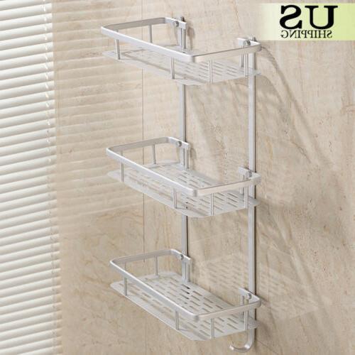3 tier towel rack bathroom organizer wall