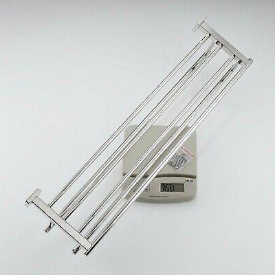KES 30-Inch Towel Rack Shelf Steel Towel Dual...