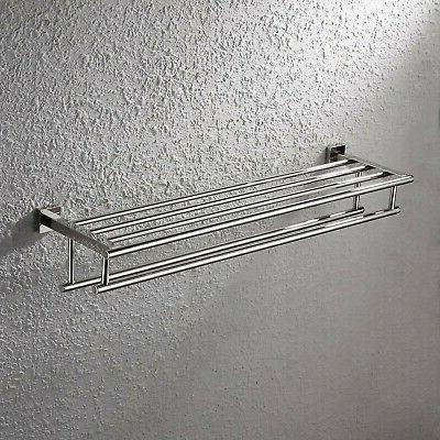 KES Rack Stainless Steel Towel Bar Dual...